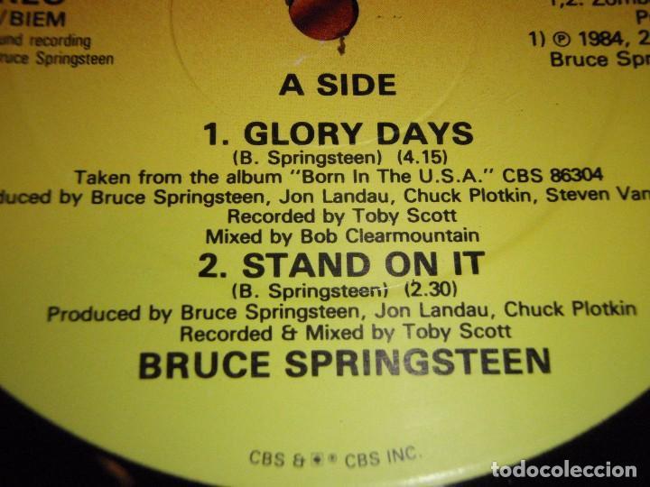Discos de vinilo: Bruce Springsteen – Glory Days UK 1985 CBS - Foto 3 - 98878587