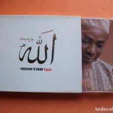 Discos de vinilo: YOUSSOU N'DOUR EGYPT CD ALBUM PEPETO. Lote 104883754