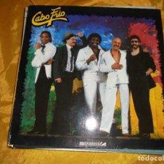 Discos de vinilo: CABO FRIO. ZEBRA RECORDS 1987. EDICION ALEMANA . IMPECABLE. Lote 98888371
