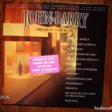 Discos de vinilo: JOHN BARRY - MOVIOLA . Lote 98894815