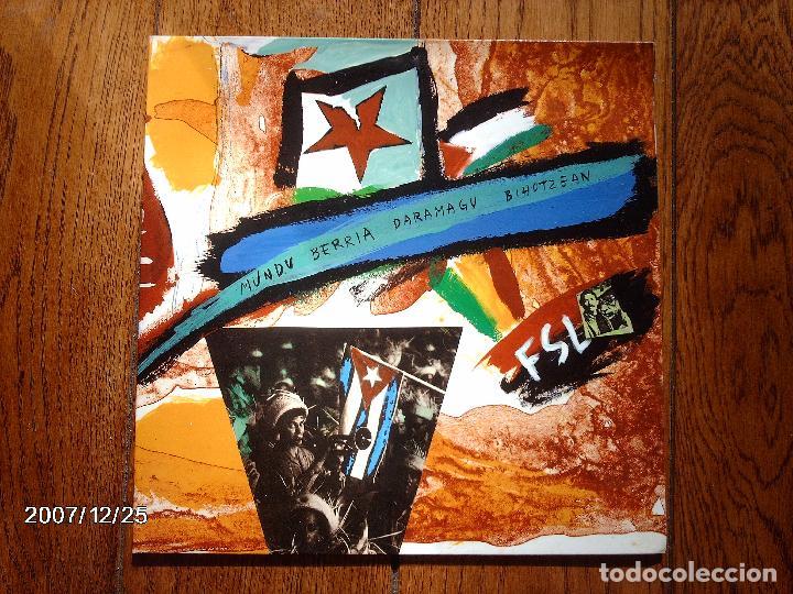 HERTZAINAK - MUNDU BERRIA DARAMAGU BIHOTZEAN (Música - Discos de Vinilo - Maxi Singles - Rock & Roll)