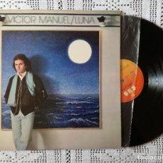 Discos de vinilo: VICTOR MANUEL, LUNA (CBS) LP - ENCARTE. Lote 98895115
