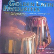 Disques de vinyle: ORCHESTRE MARIO ROBBIANI,GOLDEN LATIN FAVOURITES EDICION ALEMANA. Lote 98916567