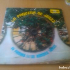 Discos de vinil: LA PAQUERA DE JEREZ - TU PINTURA + DE ROMERIA VAMOS. Lote 98921507