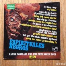 Discos de vinilo: ESPIRITUALES NEGROS, HARRY DOUGLASS AND THE DEEP RIVER BOYS, ZAFIRO. Lote 98922551