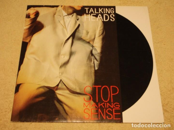 TALKING HEADS ( STOP MAKING SENSE ) 1984 - GERMANY LP33 DMM (Música - Discos - LP Vinilo - Pop - Rock - New Wave Extranjero de los 80)