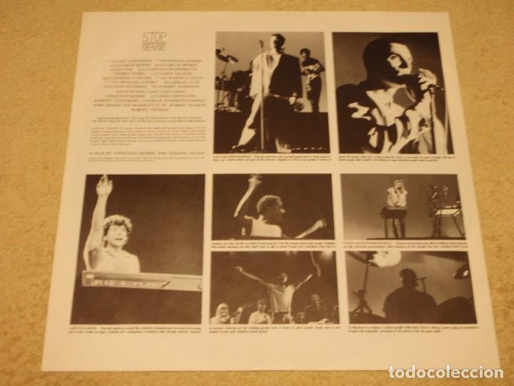 Discos de vinilo: TALKING HEADS ( STOP MAKING SENSE ) 1984 - GERMANY LP33 DMM - Foto 4 - 98931335