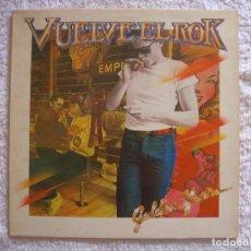 Discos de vinilo: LP VINILO - VUELVE EL ROCK - GOLDEN YEARS - VARIOS ARTISTAS - 1980. Lote 98944483