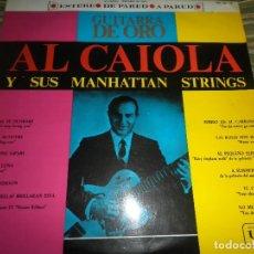 Discos de vinilo: AL CAIOLA - GUITARRA DE ORO LP - ORIGINAL ESPAÑOL - UNITED ARTISTS RECORDS 1963 - STEREO -. Lote 98948239