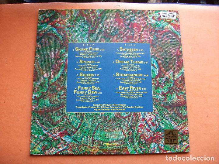Discos de vinilo: THE BRECKER BROS COLLECTION / VOLUME ONE LP GERMANY 1989 PDELUXE - Foto 2 - 98952427