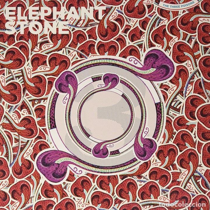 LP ELEPHANT STONE THE THREE POISON VINILO + CD PSYCH (Música - Discos - LP Vinilo - Pop - Rock Extranjero de los 90 a la actualidad)