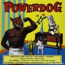 Discos de vinilo: LP POWERDOG VINILO ROCKABILLY. Lote 98962015
