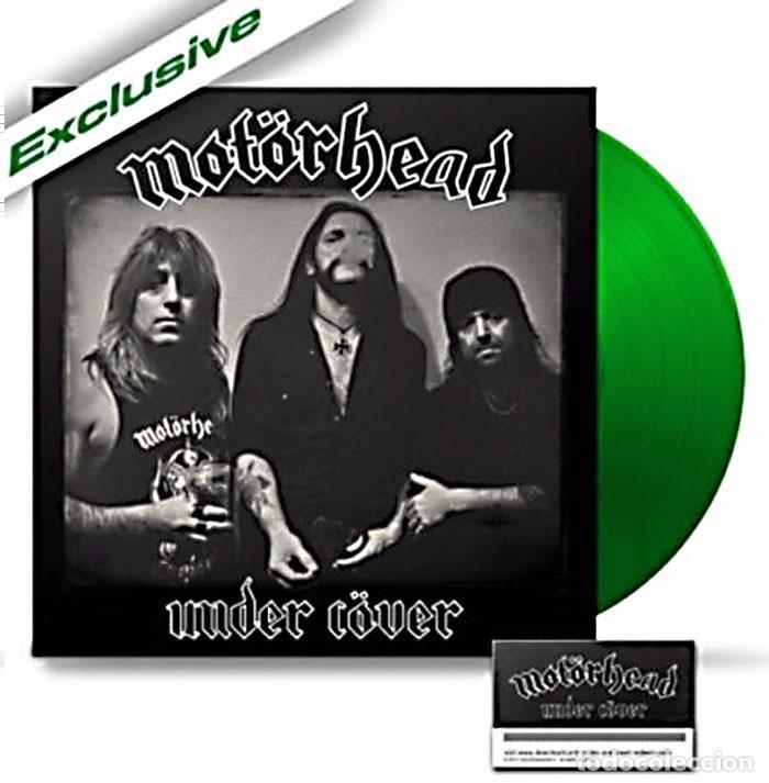 MOTÖRHEAD UNDER CÖVER EDICIÓN LTD EXCLUSIVA VINILO VERDE LP 500 COPIAS NUEVO Y PRECINTADO (Música - Discos - LP Vinilo - Heavy - Metal)