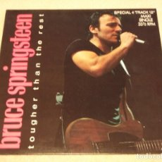 Discos de vinilo: BRUCE SPRINGSTEEN ?– TOUGHER THAN THE REST MAXI-33 HOLANDA 1987 CBS. Lote 98965211