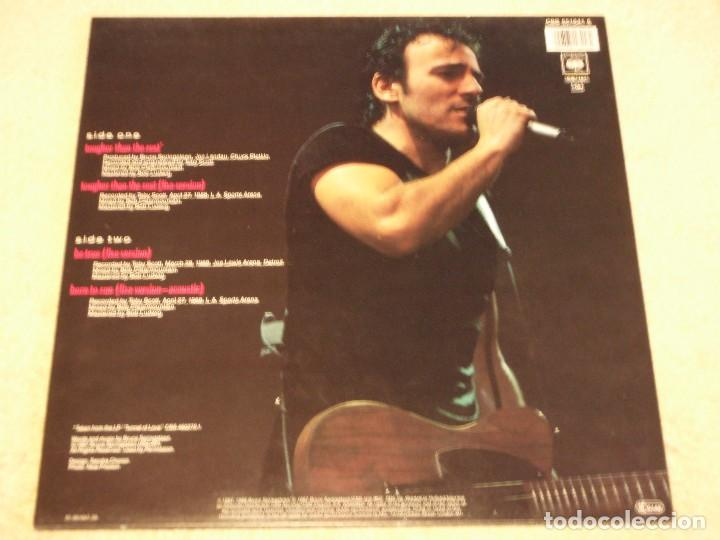 Discos de vinilo: Bruce Springsteen ?– Tougher Than The Rest Maxi-33 Holanda 1987 CBS - Foto 2 - 98965211