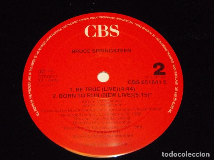 Discos de vinilo: Bruce Springsteen ?– Tougher Than The Rest Maxi-33 Holanda 1987 CBS - Foto 5 - 98965211