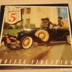 Discos de vinilo: THE JACKSON 5 ( MOVING VIOLATION ) 1975 - HOLANDA LP33 TAMLA MOTOWN. Lote 98970699