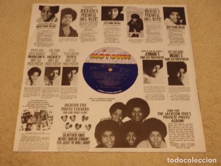 Discos de vinilo: THE JACKSON 5 ( SKYWRITER ) 1973 - USA LP33 MOTOWN RECORDS - Foto 3 - 98971679