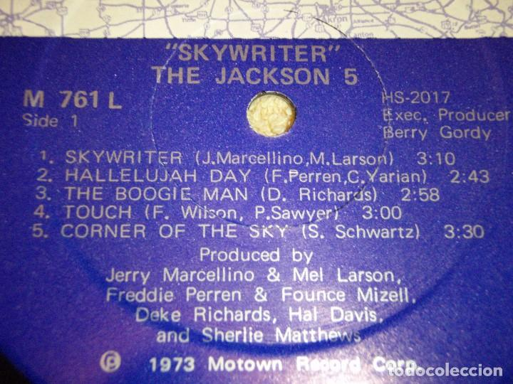 Discos de vinilo: THE JACKSON 5 ( SKYWRITER ) 1973 - USA LP33 MOTOWN RECORDS - Foto 5 - 98971679