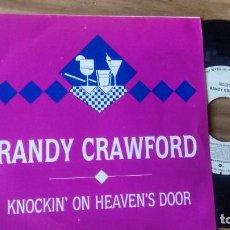 Discos de vinilo: SINGLE (VINILO)-PROMOCION.- DE RANDY CRAWFORD AÑOS 80. Lote 98971855