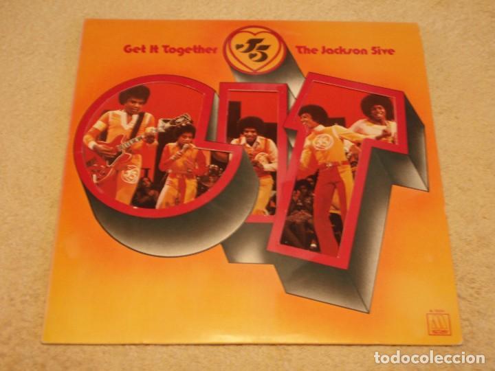 THE JACKSON 5 ( GET IT TOGETHER ) USA-1973 LP33 MOTOWN RECORDS (Música - Discos - LP Vinilo - Funk, Soul y Black Music)