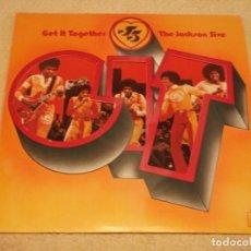 Discos de vinilo: THE JACKSON 5 ( GET IT TOGETHER ) USA-1973 LP33 MOTOWN RECORDS. Lote 98972271