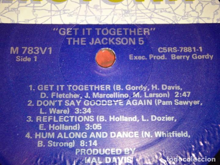 Discos de vinilo: THE JACKSON 5 ( GET IT TOGETHER ) USA-1973 LP33 MOTOWN RECORDS - Foto 5 - 98972271