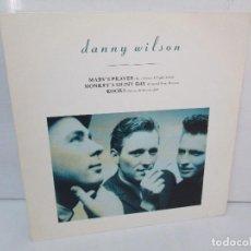 Discos de vinilo: DANNY WILSON. MARY´S PRAYER. MONKEY´S SHINY DAY. KOOKS. LP VINILO VIRGIN RECORDS 1987.. Lote 98977943