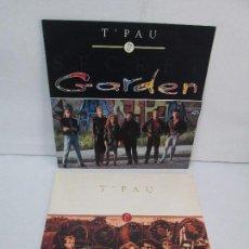 Discos de vinilo: T´PAU. 2 LPS VINILO. RAGE. GARDEN. VIRGIN 1988. VER FOTOGRAFIAS ADJUNTAS. Lote 98980991
