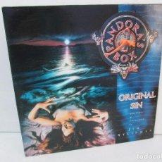 Discos de vinilo: PANDORA´S BOX. ORIGINAL SIN. LP VINILO. JIM STEIMAN. VIRGIN RECORDS 1989. VER FOTOGRAFIAS ADJUNTAS. Lote 98981335