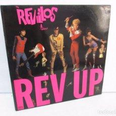 Discos de vinilo: THE REVILLOS. REV-UP. LP VINILO. VIRGIN RECORDS. 1980. VER FOTOGRAFIAS ADJUNTAS. Lote 98981543