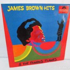 Discos de vinilo: JAMES BROWN HITS THE FAMOUS FLAMES. LP VINILO. POLYDOR 1968. VER FOTOGRAFIAS ADJUNTAS. Lote 98982623