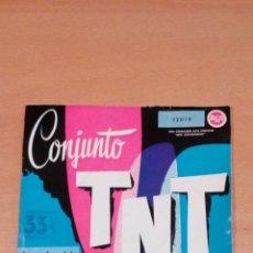 Discos de vinilo: CONJUNTO TNT - LUNA DE MIEL - ESO , ESO , ESO - BUEN ESTADO - VER FOTOS-. Lote 98984767