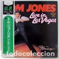 Discos de vinilo: OFERTA LP JAPON TOM JONES - LIVE IN LAS VEGAS - 1970. Lote 98984839