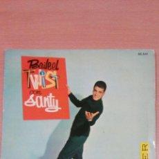 Discos de vinilo: RARO - BAILA EL TWIST CON SANTY -BUEN ESTADO - VER FOTOS. Lote 98985311