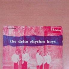 Discos de vinilo: RARO - THE DELTA RHYTHM BOYS - SIXTENN TONS ..... - BUEN ESTADO - VER FOTOS. Lote 98985699