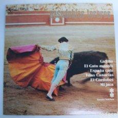 Discos de vinilo: PASODOBLES TOREROS. BANDA TAURINA. Lote 99007095