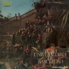 Discos de vinilo: TUNA UNIVERSITARIA DE BARCELONA / LP EKIPO DE 1967 RF-4032 . Lote 99053259
