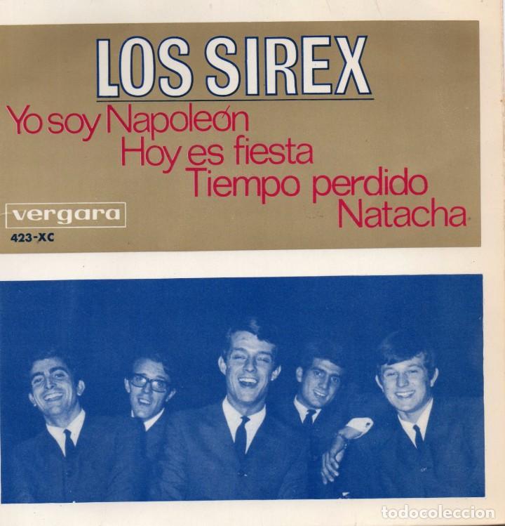 SIREX,LOS, EP, YO SOY NAPOLEON + 3, AÑO 1966 (Música - Discos de Vinilo - EPs - Grupos Españoles 50 y 60)