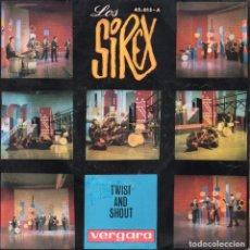 Discos de vinilo: SIREX, SG, TWIST AND SHOUT + 1, AÑO 1964. Lote 99055643