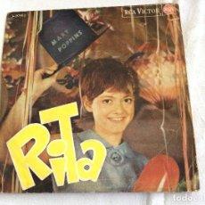 Discos de vinilo: RITA PAVONE SPANISH / MARY POPPINS. Lote 99058175