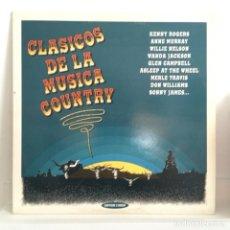 Discos de vinilo: CLÁSICOS DEL COUNTRY - 2 LPS. Lote 99060183