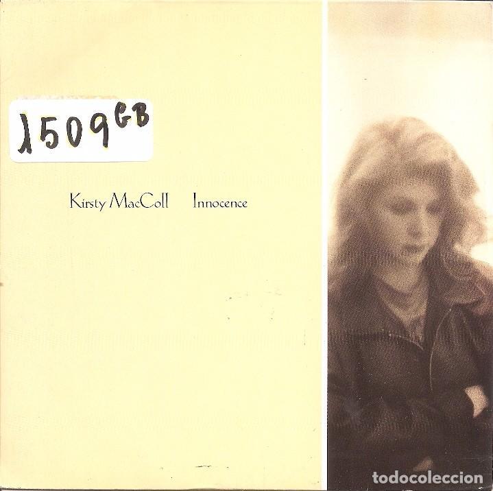 KIRSTY MACCOLL - INNOCENCE / CLUBLAND (SINGLE INGLES, VIRGIN 1989) (Música - Discos de Vinilo - Singles - Pop - Rock Extranjero de los 80)