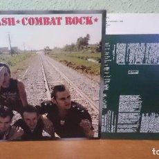 Discos de vinilo: THE CLASH,,COMBAT ROCK ,1982,,IMPORTADO. Lote 99075851
