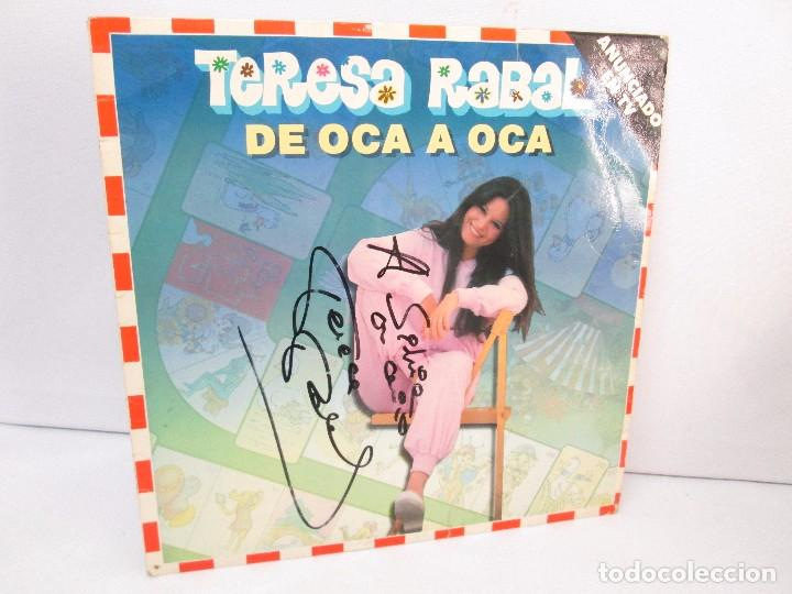 TERESA RABAL DE OCA A OCA. DEDICADO POR LA CANTANTE. LP VINILO. MOVIEPLAY 1981. VER FOTOGRAFIAS (Música - Discos - Singles Vinilo - Música Infantil)