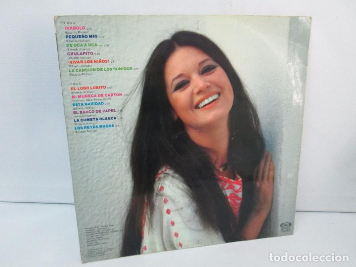 Discos de vinilo: TERESA RABAL DE OCA A OCA. DEDICADO POR LA CANTANTE. LP VINILO. MOVIEPLAY 1981. VER FOTOGRAFIAS - Foto 9 - 99089695