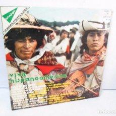Discos de vinilo: VIVA HISPANOAMERICA. LP VINILO.RED POINT 1977. VER FOTOGRAFIAS ADJUNTAS. Lote 99089991