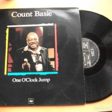 Discos de vinilo: COUNT BASIE. LP ONE O´CLOCK JUMP. MAESTROS DEL JAZZ. MADE IN SPAIN.. Lote 99092467