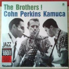 Discos de vinilo: THE BROTHERS * LP 180G *COHN* PERKINS KAMUCA * EDICIÓN LIMITADA * REMASTERED * PRECINTADO!!. Lote 125476324