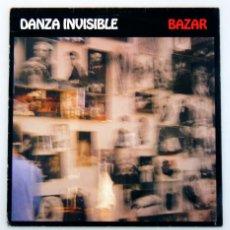 Discos de vinilo: DANZA INVISIBLE - BAZAR (LP, VINILO, DRO 1991). Lote 99128491